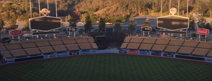 Dodger Stadium is one of Where to Find Free WiFi in LA.