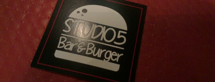 Studio 5 is one of BEST BURGERS IN PARIS.