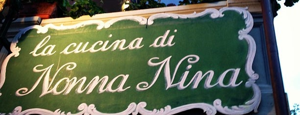 La Cucina Di Nonna Nina is one of A LOT ➡️ LIGURIA.