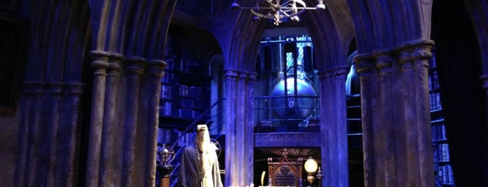 Dumbledore's Office is one of Lugares favoritos de S.