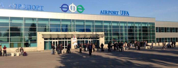 Ufa International Airport (UFA) is one of Airports (around the world).