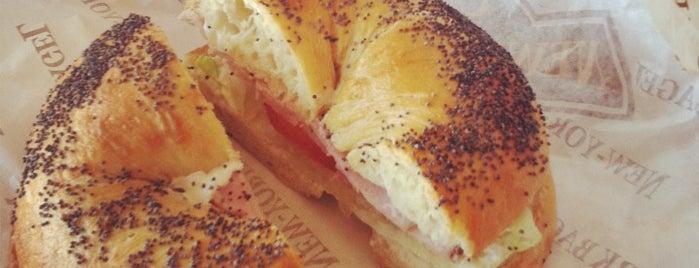 New-York Bagel Cafe is one of Tempat yang Disimpan Kinoida.