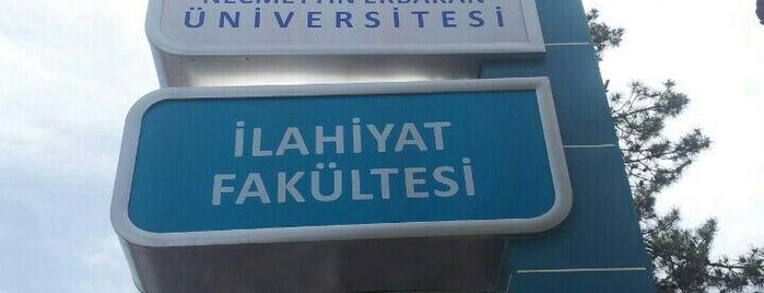 İlahiyat Fakültesi is one of Locais salvos de Furkan.
