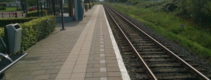 Station IJlst is one of Friesland & Overijssel.