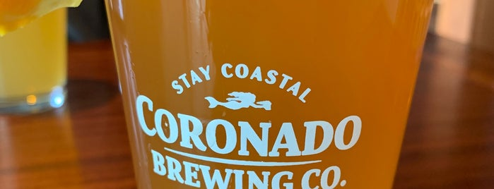 Coronado Brewing Company is one of Brewery-SD.