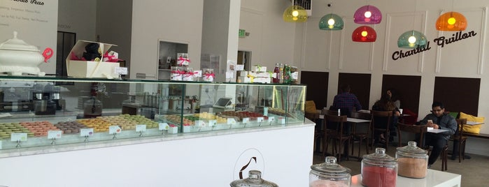 Chantal Guillon Macarons is one of SF.