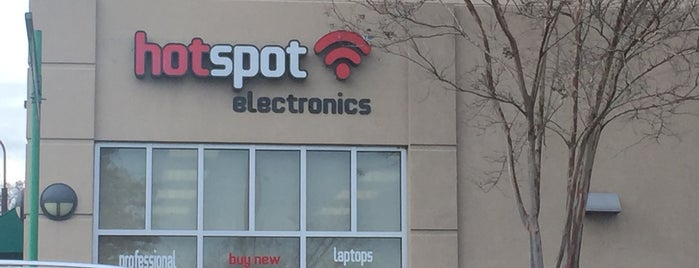 HotSpot Electronics is one of Want To Go.