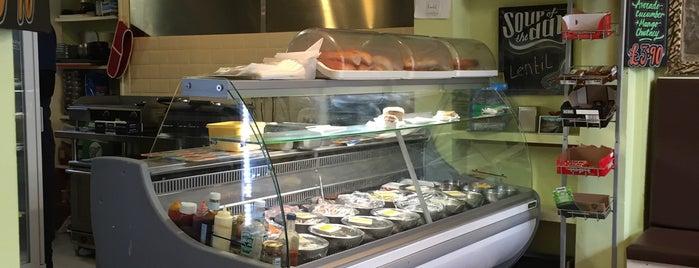 Miller's Sandwich Bar is one of Tempat yang Disukai Balázs.