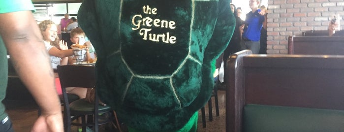 The Greene Turtle Sports Bar & Grille is one of Locais curtidos por JJ.