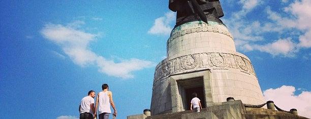 Treptower Park is one of Berlin, Germany.