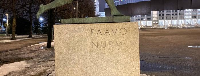 Paavo Nurmen patsas is one of Europe 2013.