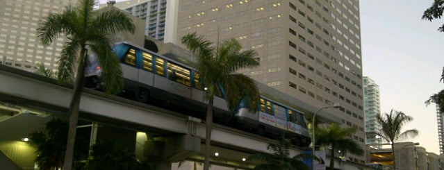 MDT Metromover - Bayfront Park Station is one of Miami - 2016.