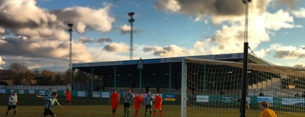 Croft Park, Blyth Spartans AFC is one of Non-League Football Grounds (Northern).
