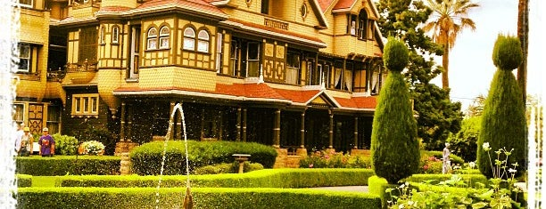 Winchester Mystery House is one of San Jose.