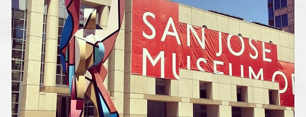 San Jose Museum of Art is one of Museums & Libraries.