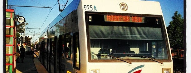 Mountain View VTA Light Rail Station is one of Bay Area.