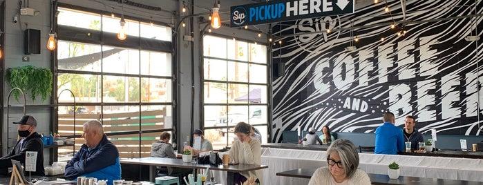 Sip Coffee and Beer Garage is one of Phoenix.