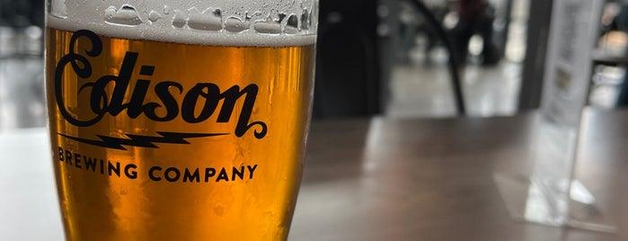 Edison Brewing Company is one of Erica 님이 좋아한 장소.