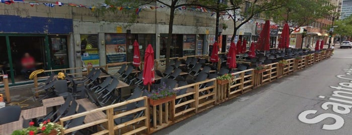 Station des Sports is one of Best Terrasses in Montreal.