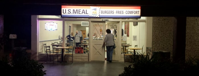 U.S. Meal is one of Tried/Experienced Places.