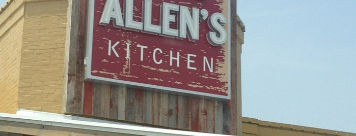 Jack Allen's Kitchen is one of Tempat yang Disukai Robbie.