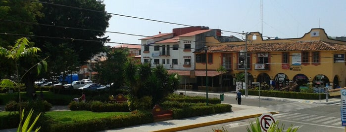 La Crucecita is one of Huatulco.
