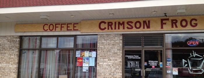 Crimson Frog Coffeehouse is one of Tyler'in Kaydettiği Mekanlar.
