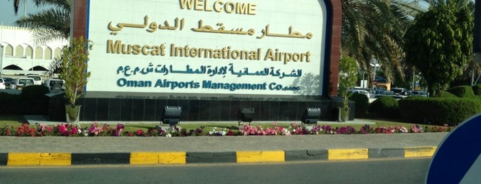Muscat International Airport (MCT) is one of สถานที่ที่ Davide ถูกใจ.