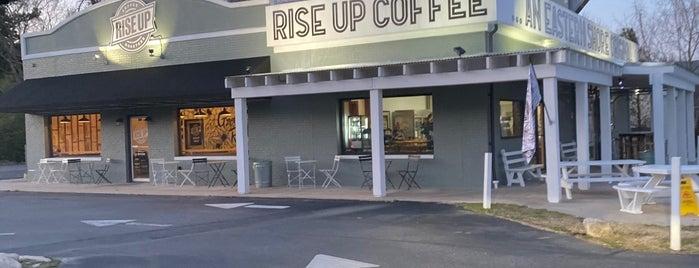 Rise Up Coffee Roasters is one of Posti salvati di Rachel.
