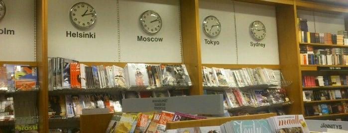 Akateeminen Kirjakauppa is one of Minna's Liked Places.