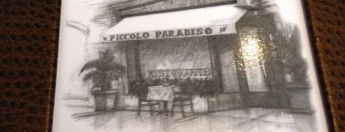 Piccolo Paradiso is one of Where to go in LA.