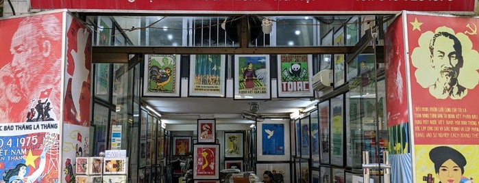 Old Propaganda Poster Shop is one of Hanoi.