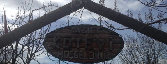 Yazıcı Köyevi is one of تركيا.