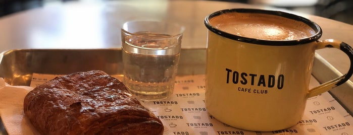 Tostado Café Club is one of S4F.