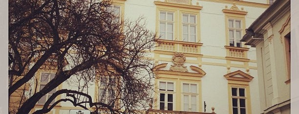Arcibiskupský palác is one of Experience Olomouc like a locals!.