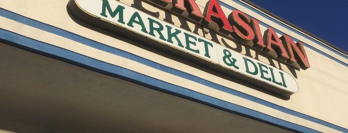 InterAsian Market & Deli is one of Nice gems outside.