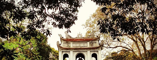 Văn Miếu Quốc Tử Giám (Temple of Literature) is one of SEA.