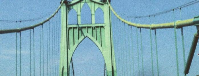 St. Johns Bridge is one of Portlandia.