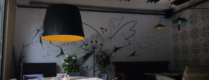Kirpi Cafe & Restaurant is one of Paşavul 님이 좋아한 장소.