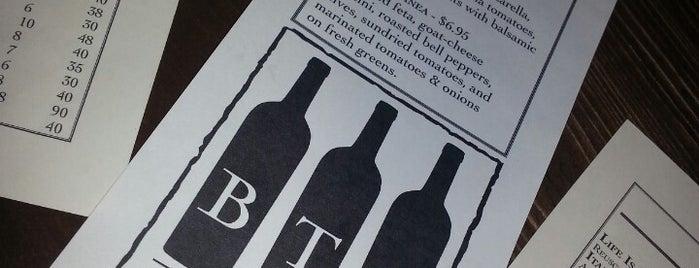 BTG Wine Bar is one of Utah.