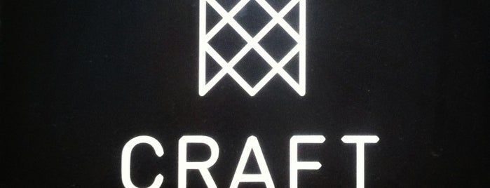 Craft is one of Cafes and More For Getting Work Done.