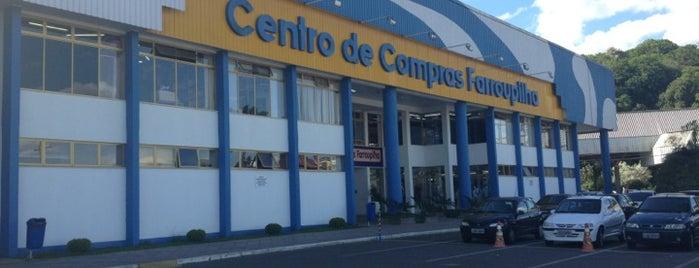Centro de Compras Farroupilha is one of Raquel'in Kaydettiği Mekanlar.
