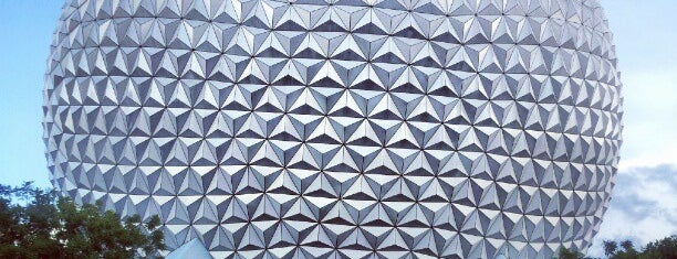 Spaceship Earth is one of Lieux qui ont plu à M..