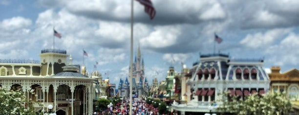 Main Street, U.S.A. is one of DISNEY.