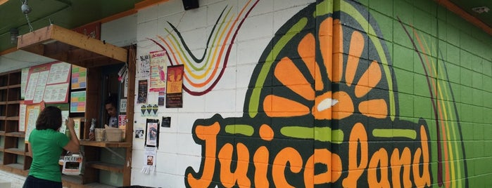 JuiceLand is one of Austin.