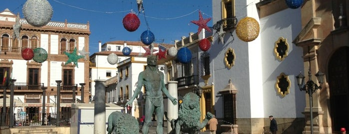 Plaza del Socorro is one of Spanien.