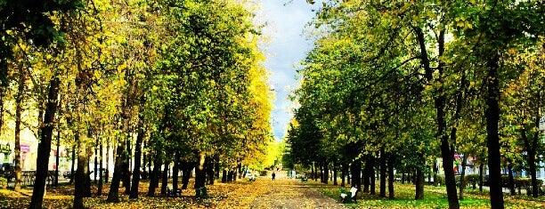 Измайловский бульвар is one of Orte, die Dasha gefallen.