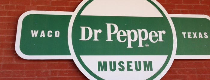 Dr Pepper Museum is one of Texas Places to Try.