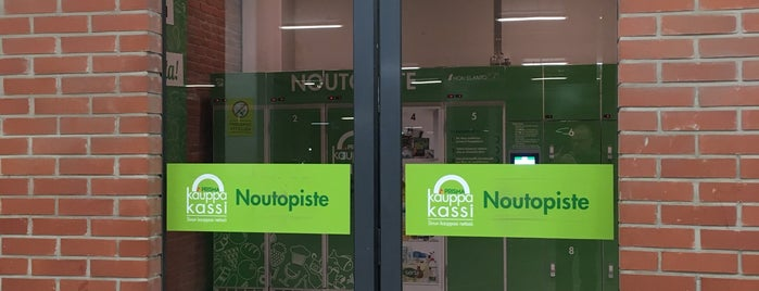 Kauppakassi Noutopiste is one of 9-to-5's.