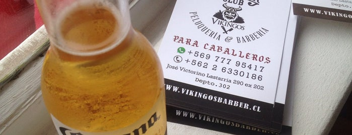 Vikingos Barber Club is one of Lugares favoritos de Pedro.